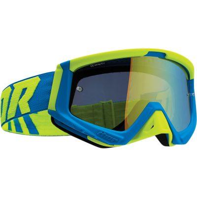 Очила THOR Sniper Blue/Fluo Acid