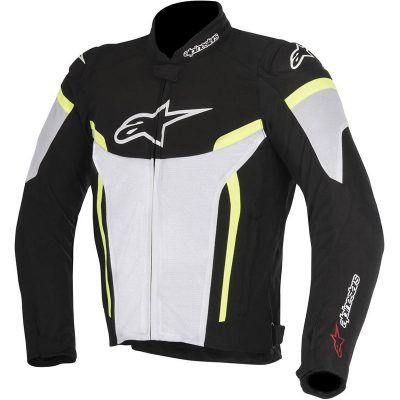 Яке ALPINESTARS T-GP Plus R v2 Black/white/Yellow Fluo