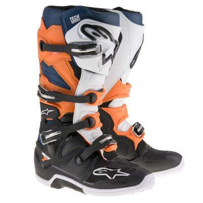 Ботуши ALPINESTARS Tech 7 Black/Orange/White/Blue