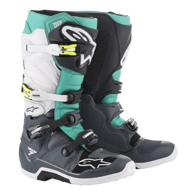 Ботуши ALPINESTARS TECH 7 dark grey/teal/white