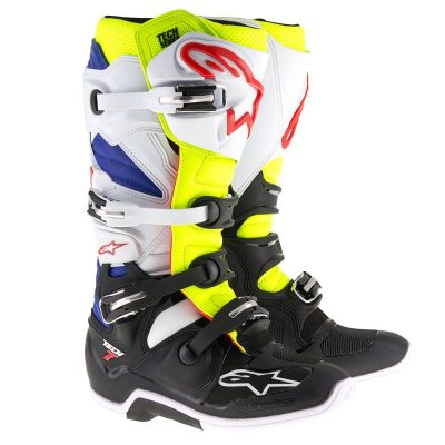 Ботуши ALPINESTARS TECH 7 white/yellow fluo/blue