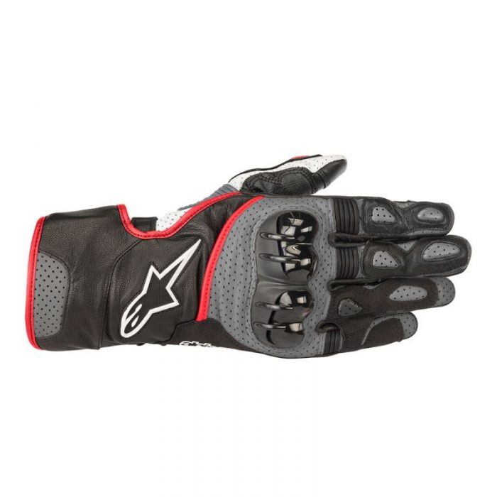 Ръкавици ALPINESTARS SP-2 v2 Black/Grey/Red fluo