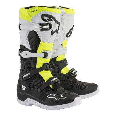 Ботуши ALPINESTARS TECH 5 black/white/yellow fluo