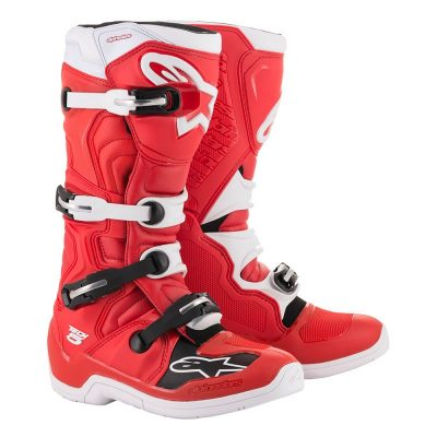 Ботуши ALPINESTARS TECH 5 red/white