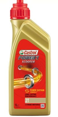 Масло CASTROL Power 1 Scooter 2T