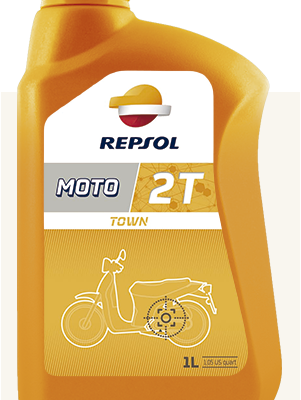 Масло REPSOL Town 2T
