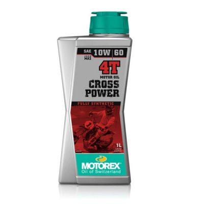 Двигателно масло MOTOREX Cross Power 4T 10W60
