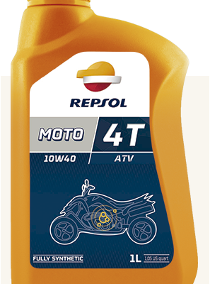 Масло REPSOL 4T ATV 10W40