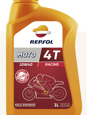 Масло REPSOL 4T Racing 10W40