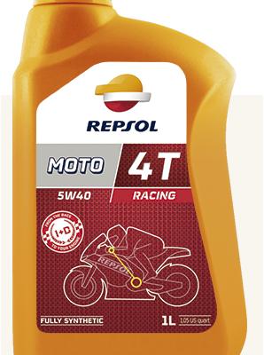 Масло REPSOL 4Т Racing 5W40