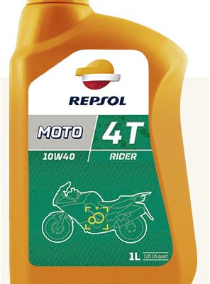 Масло REPSOL 4T Rider 10W40
