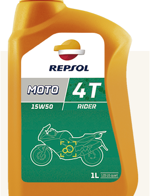 Масло REPSOL 4T Rider V-TWIN 20w50