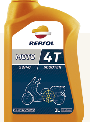Масло REPSOL 4T Scooter 5W40