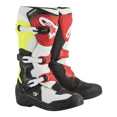 Ботуши ALPINESTARS TECH 3 black/white/yellow fluo/red