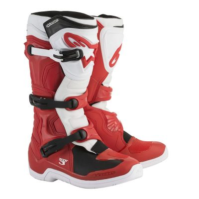 Ботуши ALPINESTARS TECH 3 red/white