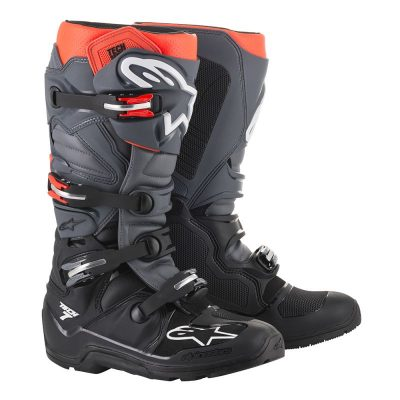 Ботуши ALPINESTARS TECH 7 Enduro black/grey/red fluo