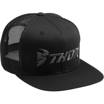 Шапка THOR Trucker Black/Grey