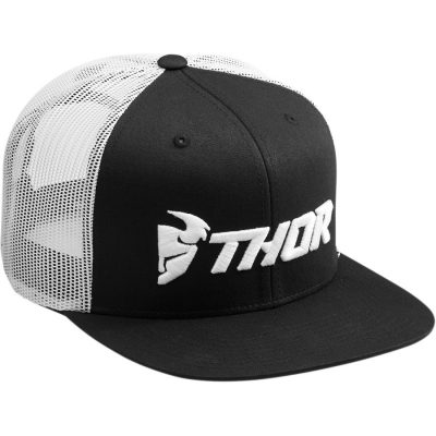 Шапка THOR Trucker Black/White