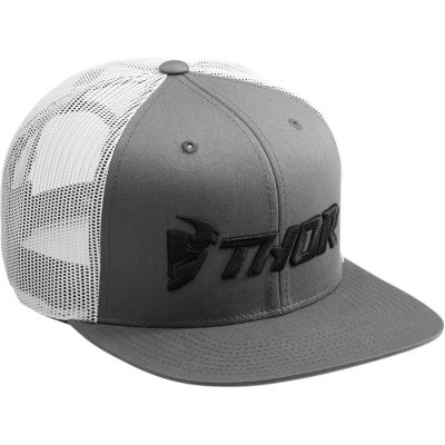 Шапка THOR Trucker Grey/White