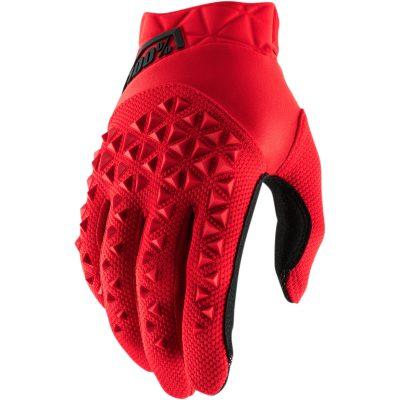 Ръкавици 100% AIRMATIC червени