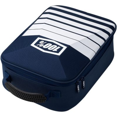 Чанта очила 100% Goggle Case Navy/White