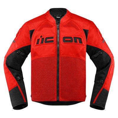 Текстилно яке ICON Contra 2 Red
