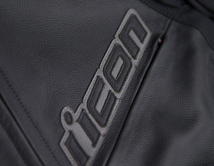 Кожено яке ICON Hypersport 2 Black