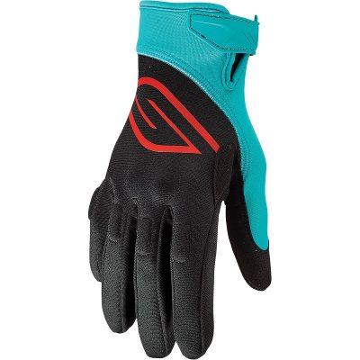 Ръкавици Slippery Circuit Black/Aqua
