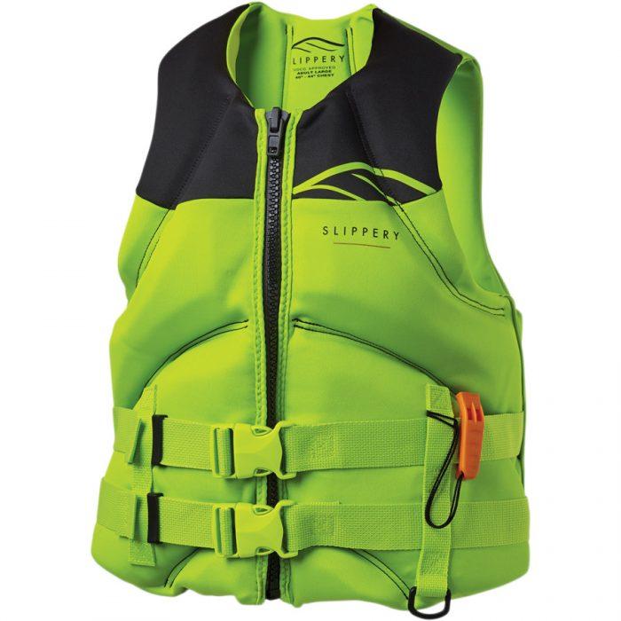 Жилетка Slippery Surge Neo Vest Lime/Black