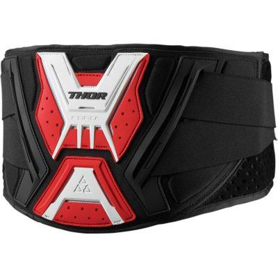 THOR Force Belt Black/Red/White