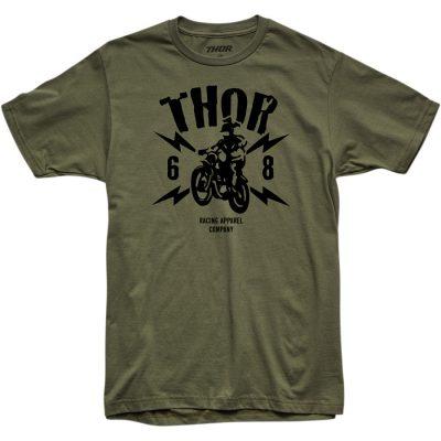 Тениска THOR Lightning Green