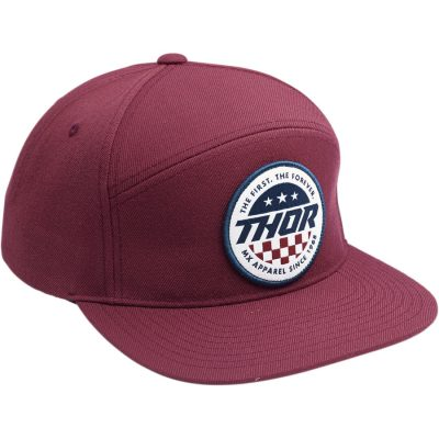 Шапка THOR Patriot Snapback Burgundy