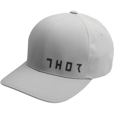 Шапка THOR Prime Flexfit Grey
