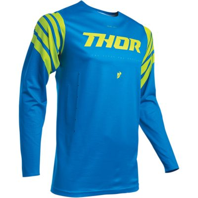 THOR Prime Pro Strut Electric Blue/Acid