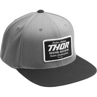 Шапка THOR Goods Snapback Black/Grey