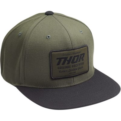 Шапка THOR Goods Snapback Black/Military Green