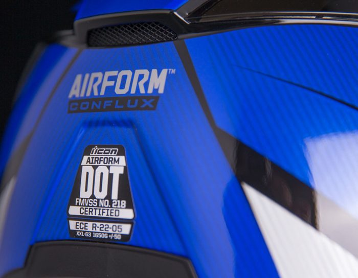 ICON Airform Conflux Blue