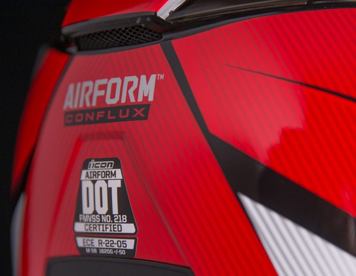 ICON Airform Conflux Red