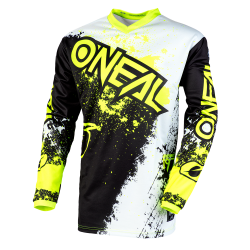 O'NEAL ELEMENT IMPACT BLACK/NEON YELLOW