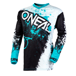O'NEAL ELEMENT IMPACT BLACK/TEAL 2020