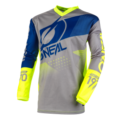 O'NEAL ELEMENT FACTOR GRAY/NEON/YELLOW
