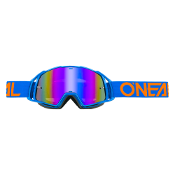 Очила O`NEAL B20 FLAT BLUE/ORANGE
