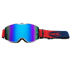 Очила O`NEAL B20 NEON RED/BLUE