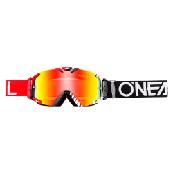 Очила O`NEAL B30 DUPLEX BLACK/RED/WHITE