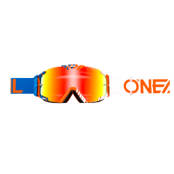 Очила O`NEAL B30 DUPLEX BLUE/WHITE/ORANGE