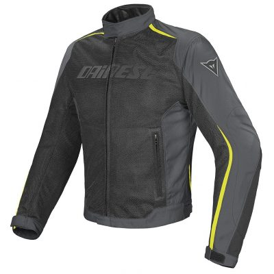 Яке Dainese Hydra Flux D-Dry Jacket black/yellow