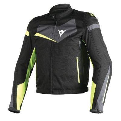 Яке Dainese Veloster Tex Jacket black/ebony/yellow