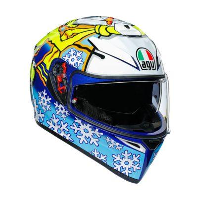 AGV K-3 SV Top Rossi Winter Test 2016