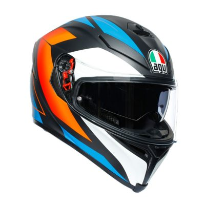 AGV K-5 S Multi Core Matt black/Blue/Orange
