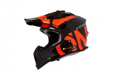 O'NEAL 2SERIES SLICK NEON BLACK/ORANGE